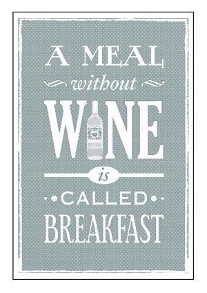 a meal without wine is called breakfast - but how about a glass champagne for breakfast?!