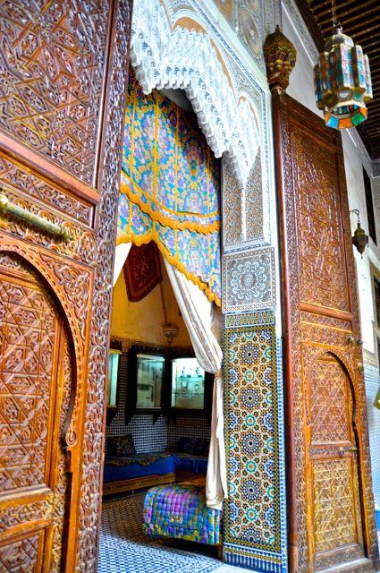 Riad, Fes Riad - Maroc Désert Expérience tours http://www.marocdesertexperience