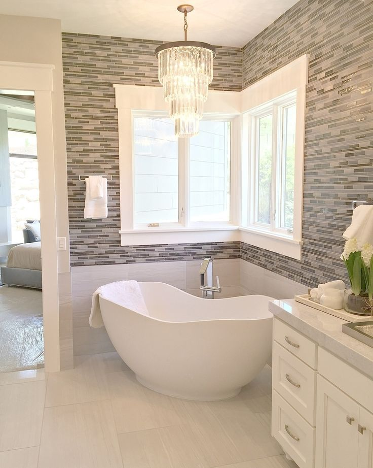 """1,507 Likes, 28 Comments - Cassity Kmetzsch (@remodelaholic) on Instagram: """"So many things about this bathroom we love...dream big y'all. What are your favorite features?…"""""""