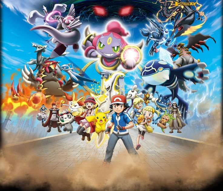 pokemon xy poster | Synopsis du film « Pokémon The Movie X Y 2015 » :