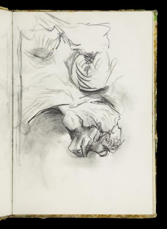 Graham Sutherland OM 'Sketch of knobbly forms, probably tree roots', [c.1961–7] © The estate of Graham Sutherland