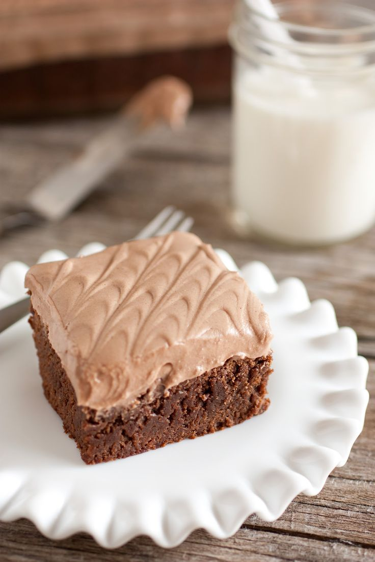 Cooking Classy: Old Fashioned Ultra Chewy Brownies with Chocolate Cream Cheese Frosting