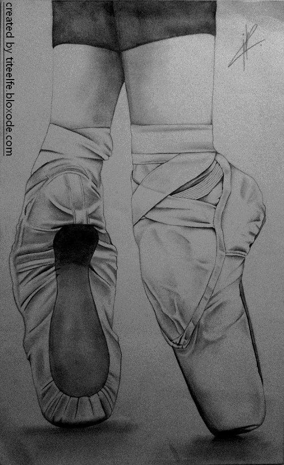balerin patiği çizimi
