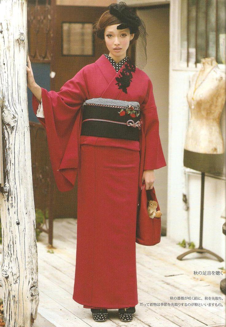Scans from book Making casual kimono and yukata by Yumi Yamamoto. ISBN978-4-7661-1901-5