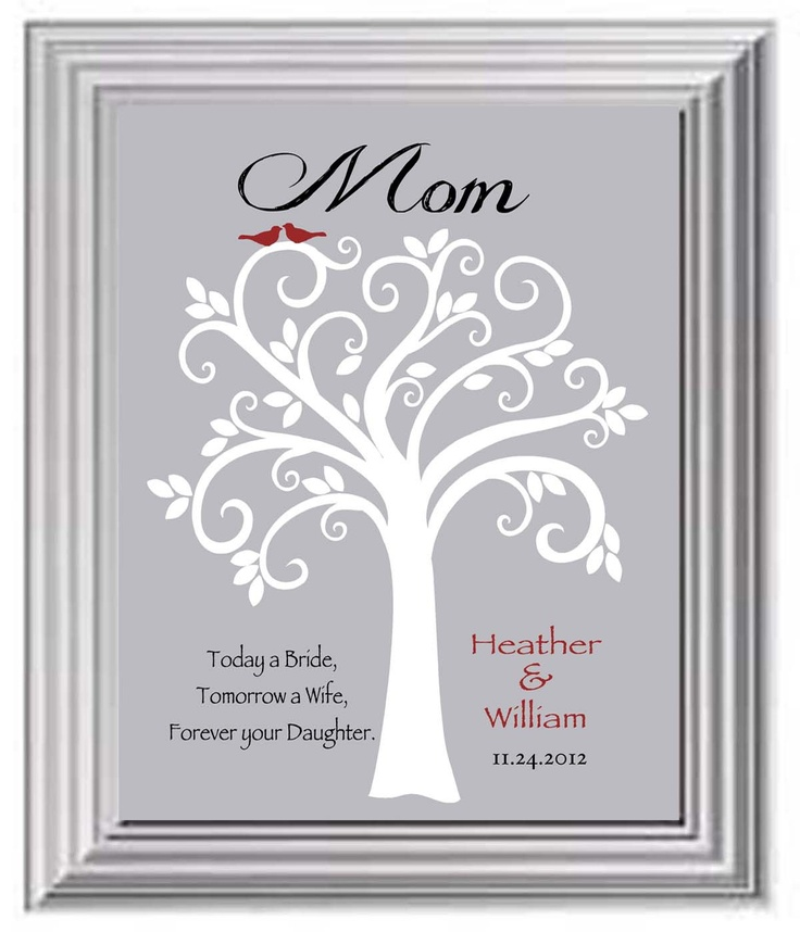 Mother Wedding Gift Ideas: Wedding Gift For Mom Or Dad
