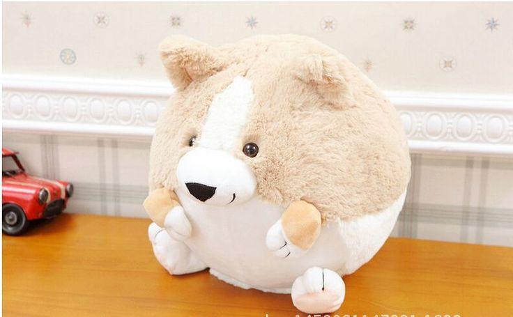 small cute plush fat corgi dog toy lovely round cartton corgi dog doll gift about 20cm //Price: $US $17.63 & FREE Shipping //     #toyz24