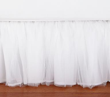 Tulle Bed Skirt #pbkids 129