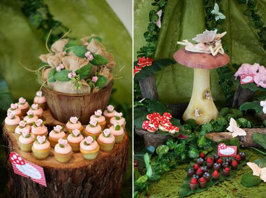 Bleekcup 39 s le blog joli buffet th me for t enchant e for Decoration foret enchantee