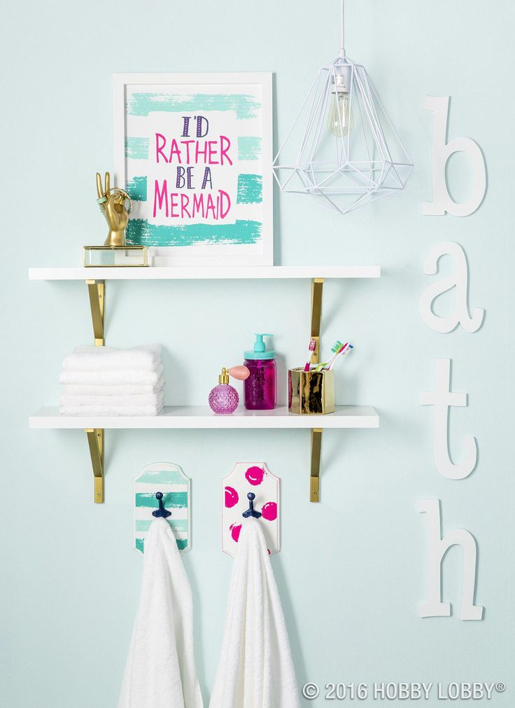 Like the white open shelves above the toilet – Aqua wall #kidsBathroom   – kids Bathroom