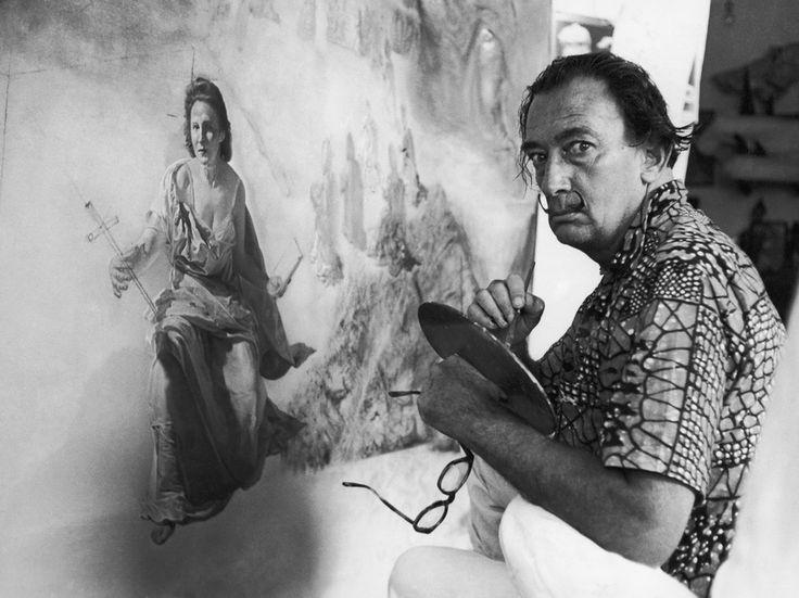 Risultati immagini per SPAIN SALVADOR DALI (01 giu 1966) di LAMA