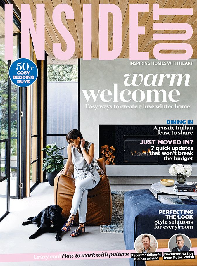 The cover of the June 2016 issue of Inside Out magazine. Styling by Rachel Vigor. Photography by Derek Swalwell. Available from newsagents, Zinio,www.zinio.com, Google Play, https://play.google.com/store/newsstand/details/Inside_Out?id=CAowu8qZAQ, Apple's Newsstand,https://play.google.com/store/newsstand/details/Inside_Out?id=CAowu8qZAQ, and Nook.