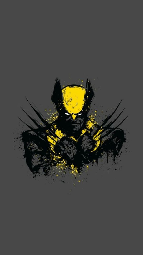 40 Awesome Superhero Wallpapers For Iphone Wolverine Comic