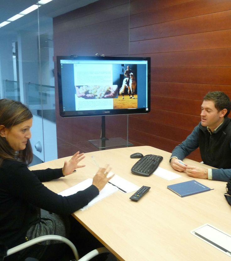 #Consultoria de #MarketingTuristico con la empresa usuaria Touring Tourismo en nuestras semanas de consultoría
