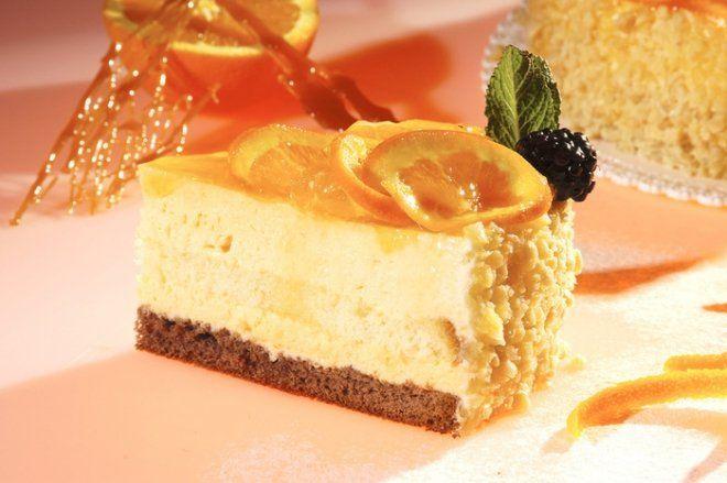 Una #torta dal profumo delizioso  con un ingrediente tipico di stagione #arance #dolci #torte
