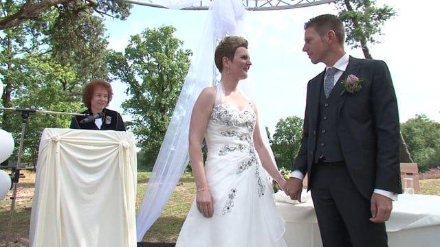 """Rob & Renske trouwden op 2 september 2016 op een bijzondere locatie """" De…"""