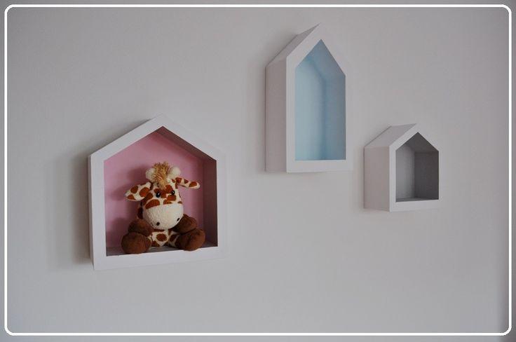 Półko-domek na zabawki S