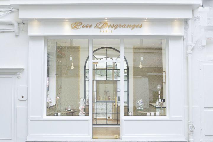 Rose Desgranges Perfumery by centdegrés, Paris – France