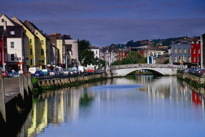 Waterfront houses line the south channel of the River Lee, Ireland Richard Cummins Lonely Planet Photographer  © Copyright Lonely Planet Images 2011
