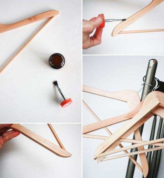 One Little Minute Blog-DIY Non Slip Hanger