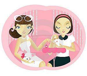Pinkbelezura: Hoje é dia da Manicure!!!