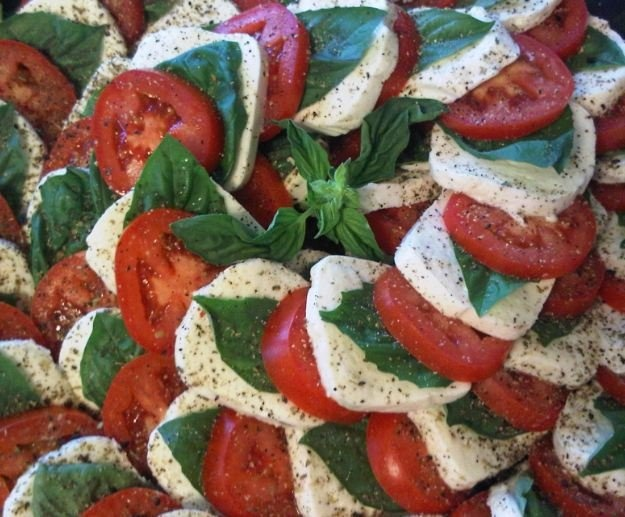 My Insalata Caprese Salad | Food and Recipes | Pinterest