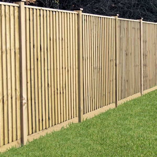 Grange Professional Feather Edge Wooden Fence Panels - 6ft | Internet Gardener