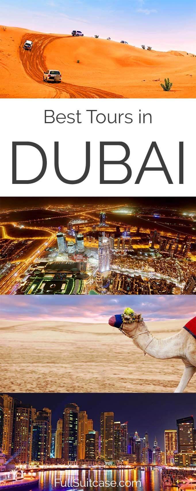 Best excursions, tours, and day trips in Dubai UAE #dubai #dubaitravel