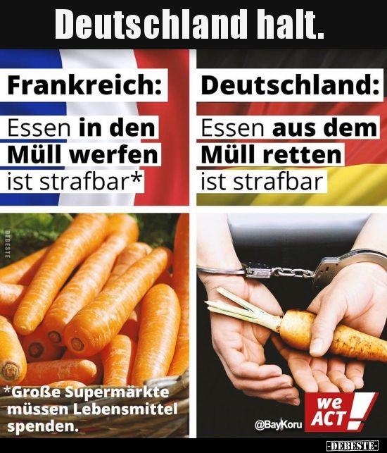 Deutschland halt… | Lustige Bilder, Sprüche, Wi…