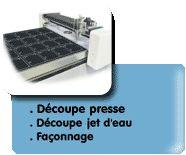 Midi Caoutchouc - Spécialiste du caoutchouc et de la découpe jet d'eau