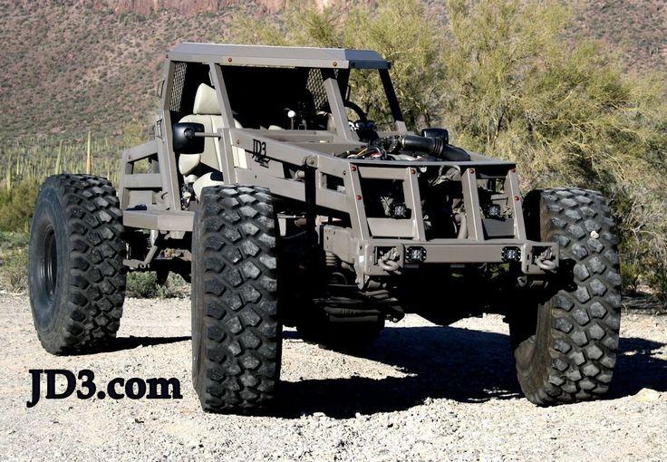 Jd3 Custom Built Rock Crawler Based On Ford Excursions