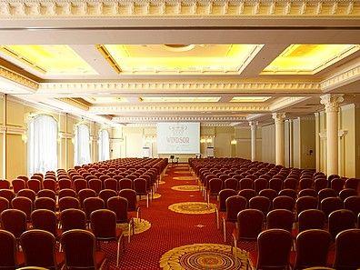 Windsor Palace Hotel & Conference Center****, Warszawa. Sala konferencyjna na 1000 osób. #konferencjewarszawa, #konferencjewwarszawie