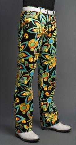 Loudmouth Golf Pants - Shagadelic Black  http://my.ceogolfshop.com/Shagadelic_black_mens_pants_p/loudmouth-pant-shbk.htm