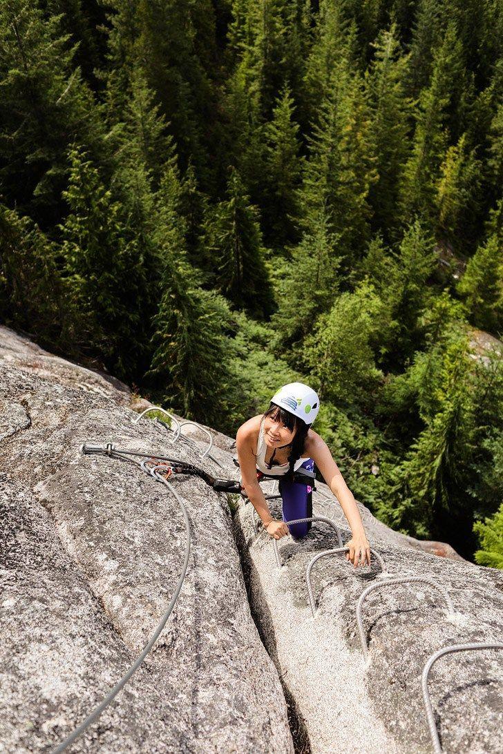 Squamish Via Ferrata - Best Things to Do in Squamish BC // localadventurer.com