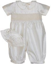Boys Silk Ring Bearer Christening Longall Suit and Cap – Carousel Wear