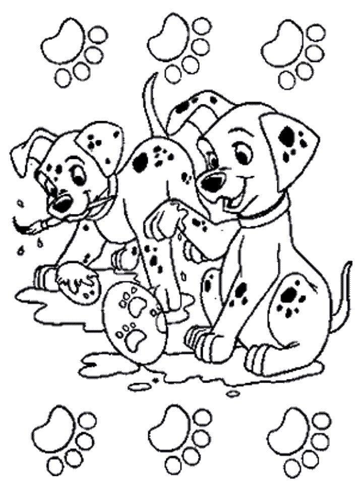 coloring page 101 dalmatians coloring pages 24