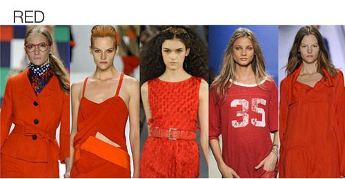 WOMEN'S TOP COLOR SPRING 2013. FASHION SNOOPS TREND REPORT ~ Arabs Cool Costumes