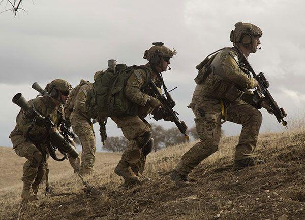 Ranger anti-tank team