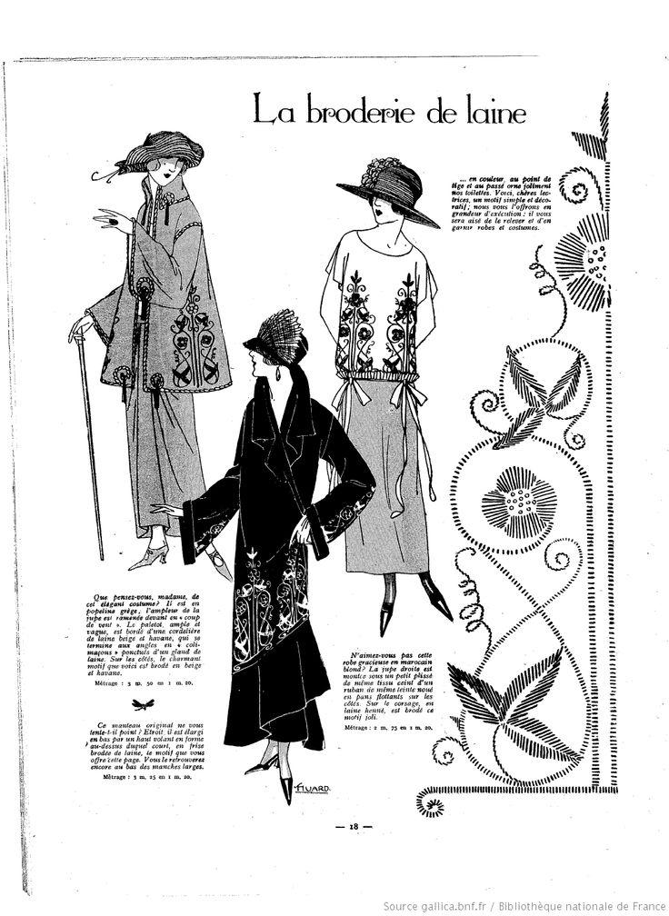Les Modes de la femme de France   1923/03/04 (A9,N408).