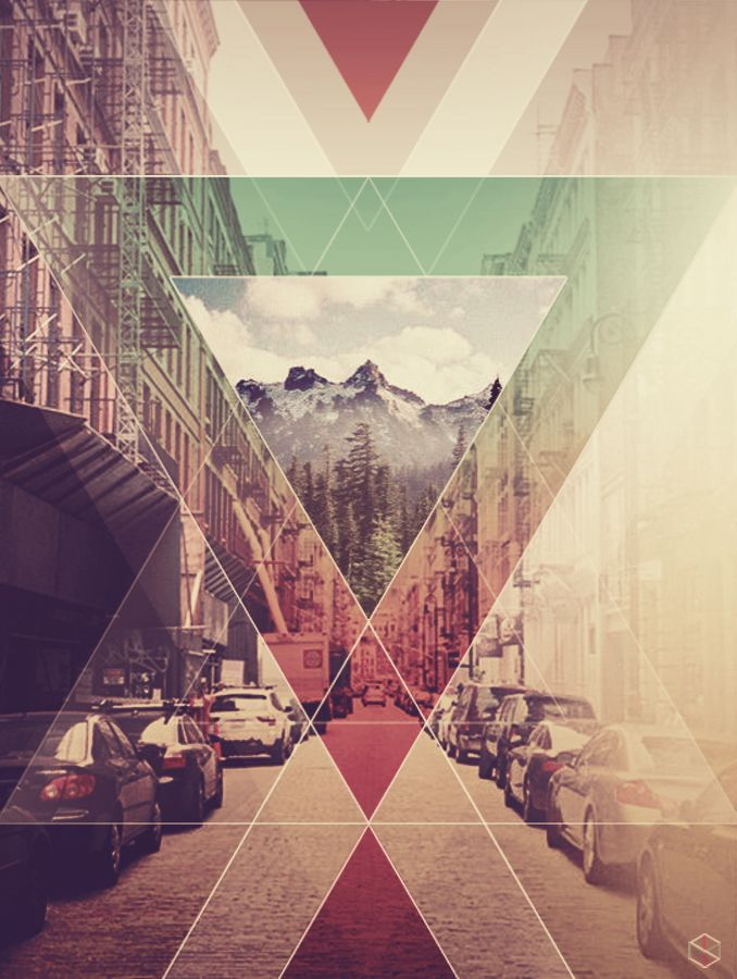 Love Triangle Wallpapers : iPhone 5 Wallpaper - Triangles Indie Posters ...