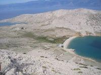 Insel Krk Baška - Strand, Strände, Sandstrand, Sandstrände, Kiesstrand, einsame Buchten, Felsenstrand - Turm Krk