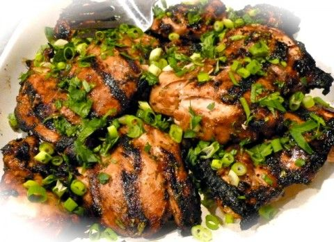 Weight Watchers Grilled Ginger Lime Chicken Recipe | 5 PointsPlus #weight #watchers #points #chicken