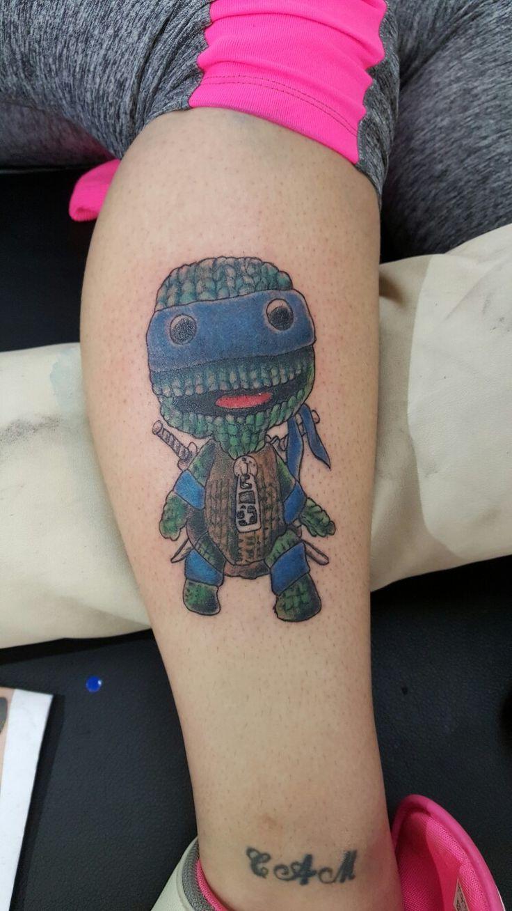 Pin lovi poe for tattoo pictures to pin on pinterest on pinterest - Tmnt Sackboy Tattoo