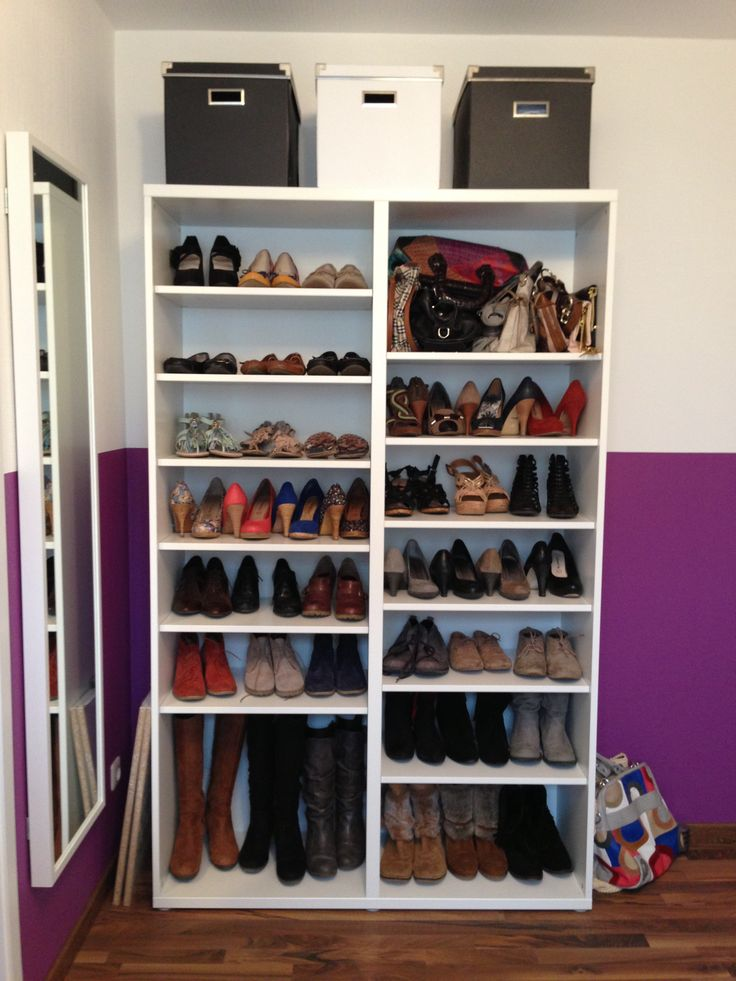 One of my shoe closets