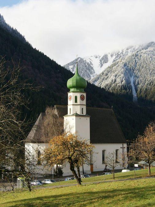 St. Gallenkirch, Kirche Hl. Gallus (Bludenz) Vorarlberg AUT