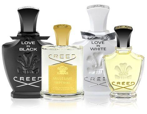 Creed perfumes