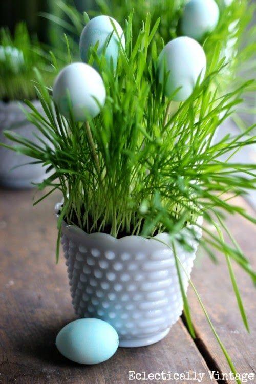 kisFlanc Lakberendezés Dekoráció DIY Receptek Kert Háztartás Ünnepek: 10 nagyon egyszerű és gyors húsvéti dekorációs ötlet
