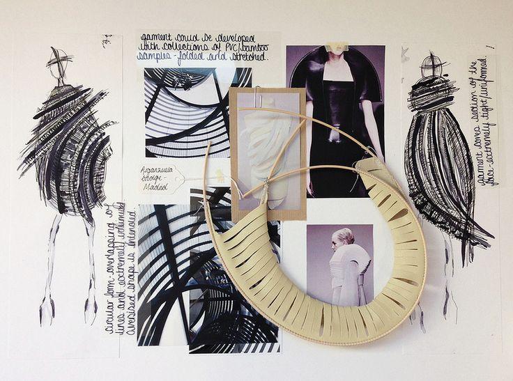 [CSM] BA (Hons) Fashion: Fashion Design Womenswear MINI-PORTFOLIO: Rhianna Morton / MOR14419812 - RESEARCH SHEET ONE