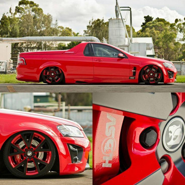 """1,346 Likes, 14 Comments - Holden's of Australia (@instaholdens) on Instagram: """".. BOSS PC : SlowNSerious #Holden #HSV #VE #Maloo #ute #Bags #Bagged #Lowlife #Dope #Slammed…"""""""