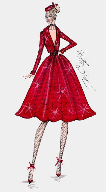 #Hayden Williams Fashion Illustrations
