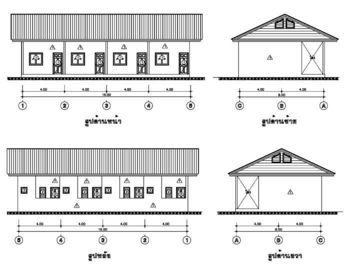 แบบห องแถว สำหร บธ รก จขนาดย อม ในงบก อสร าง บ านราคาไม เก น 5 แสน ในป 2021 ออกแบบบ าน ห องนอน บ านในฝ น